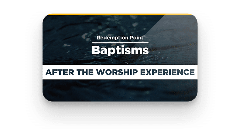 Baptisms Today