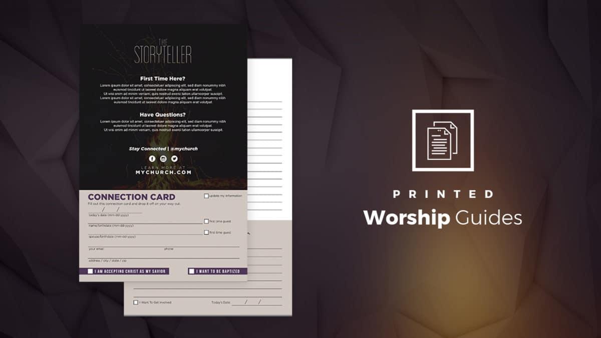Stor Worship Guide