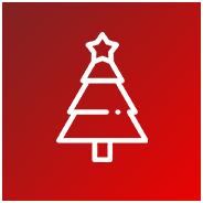 menu icon christmas