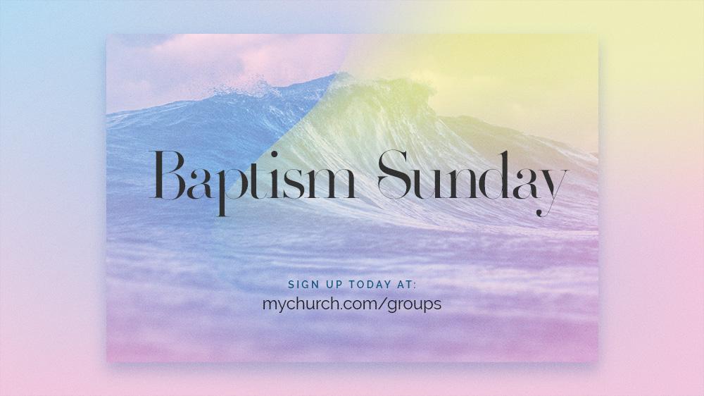 Crma Screen Baptism