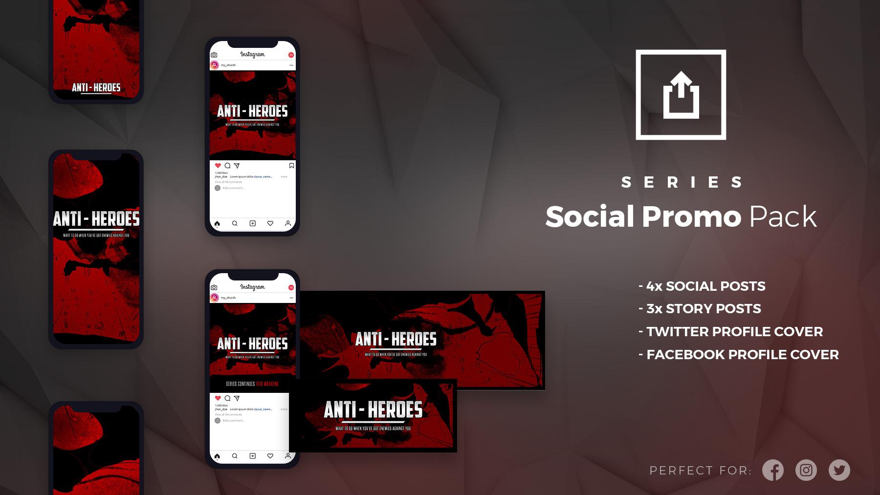 hero social promo