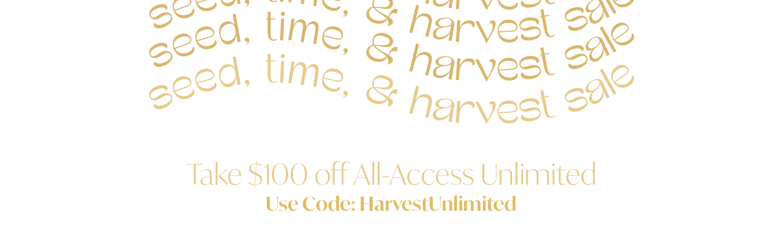 harvest access text