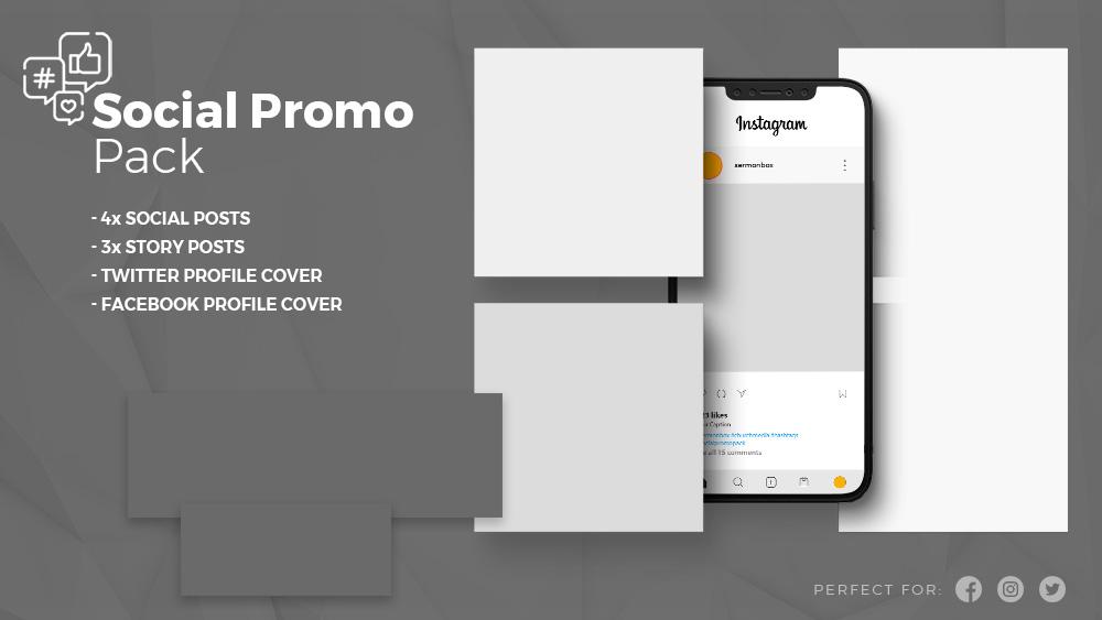 sample social promo